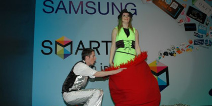 Quick Change Artists Kuwait – Samsung Smart TV Launch