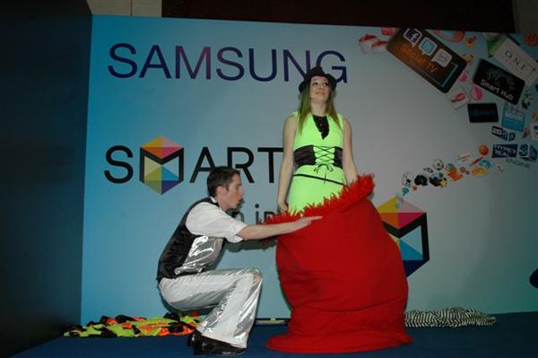 Quick Change Artists Kuwait - Samsung Smart TV Launch